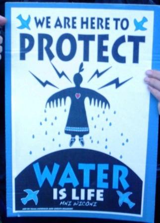 Water is Life - Mni Wiconi Photo (c) John M. Kingery